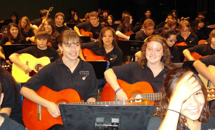 Las Vegas Academy Guitar Recital